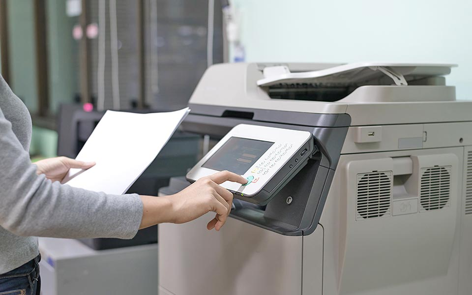 impressora papel nacional paper