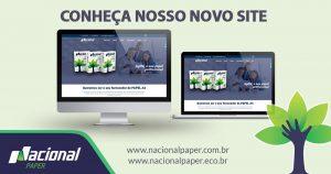 novo site nacional paper